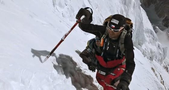 Životní výstup na majestátnou K2.