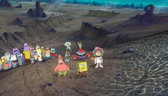 SpongeBob se svými přáteli se musí vypravit mimo oceán.