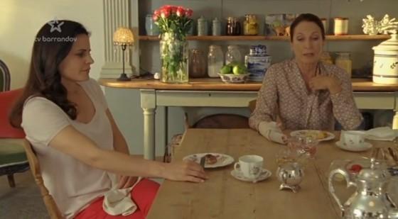 Anna se svou matkou Luisou.