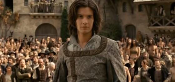 Samotný princ Kaspian.