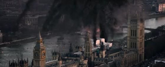 Londýn je uvržen do chaosu.