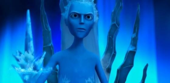 Zlá ledová královna zaklela celou zem.