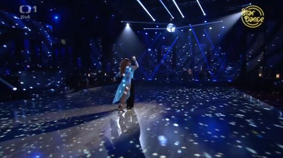 Radek Banga také umí skvěle tančit.