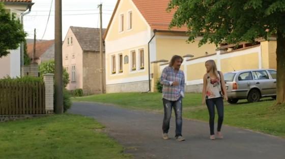 Pravá česká vesnička Strdín má své krásy.